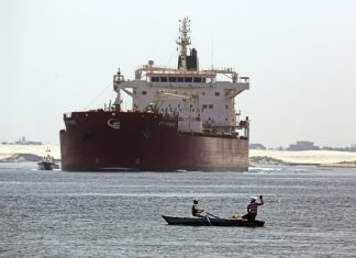 The shipbuilding industry is holding its breath - container ships are blocking the Suez Canal